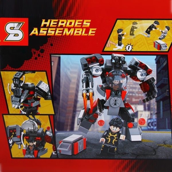 Heroes Assemble - Ant-Man Robot 2 figurával – Sheng Yuan - SY362A