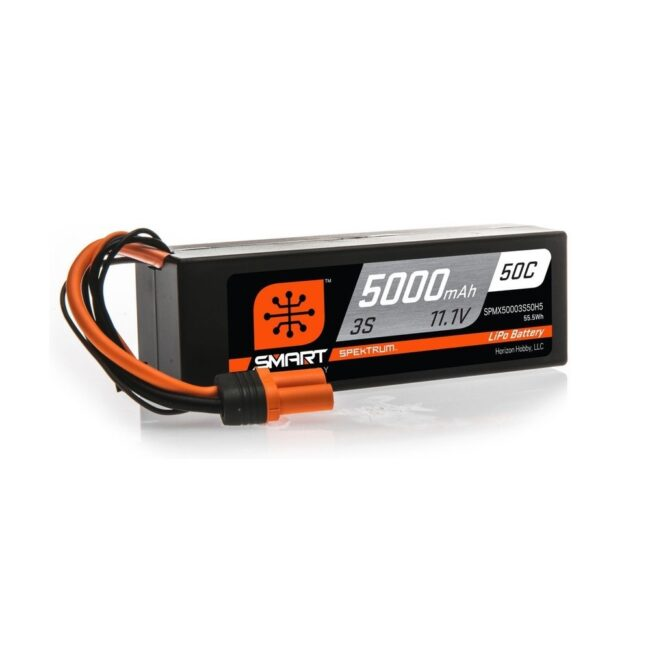 Spektrum Smart LiPo 11.1V 5000mAh 50C HC IC5