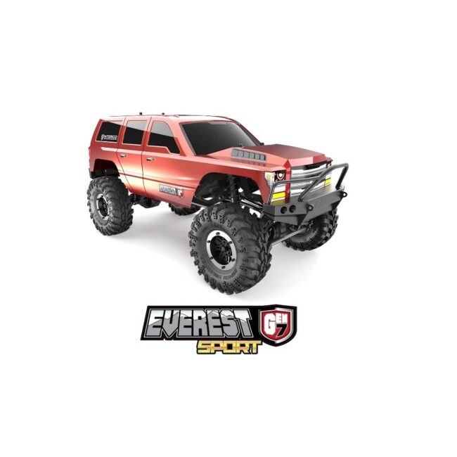 Redcat Racing Everest Gen7 Sport RC Triál Crawler Silver / Orange