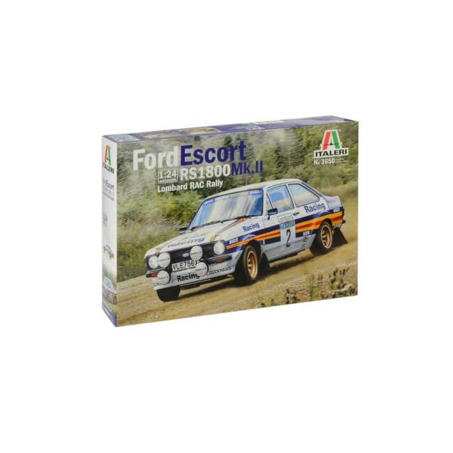 Italeri Ford Escort RS1800 Mk.II Lombard RAC Rally 1:24 (Model Kit 3650)