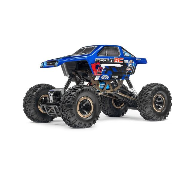 Maverick Scout RC 1/10 Rock Crawler RTR kék