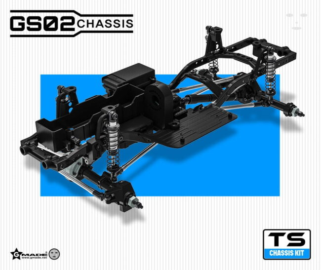 Gmade GM57002 Crawler 1/10 GS02 TS Chassis Kit
