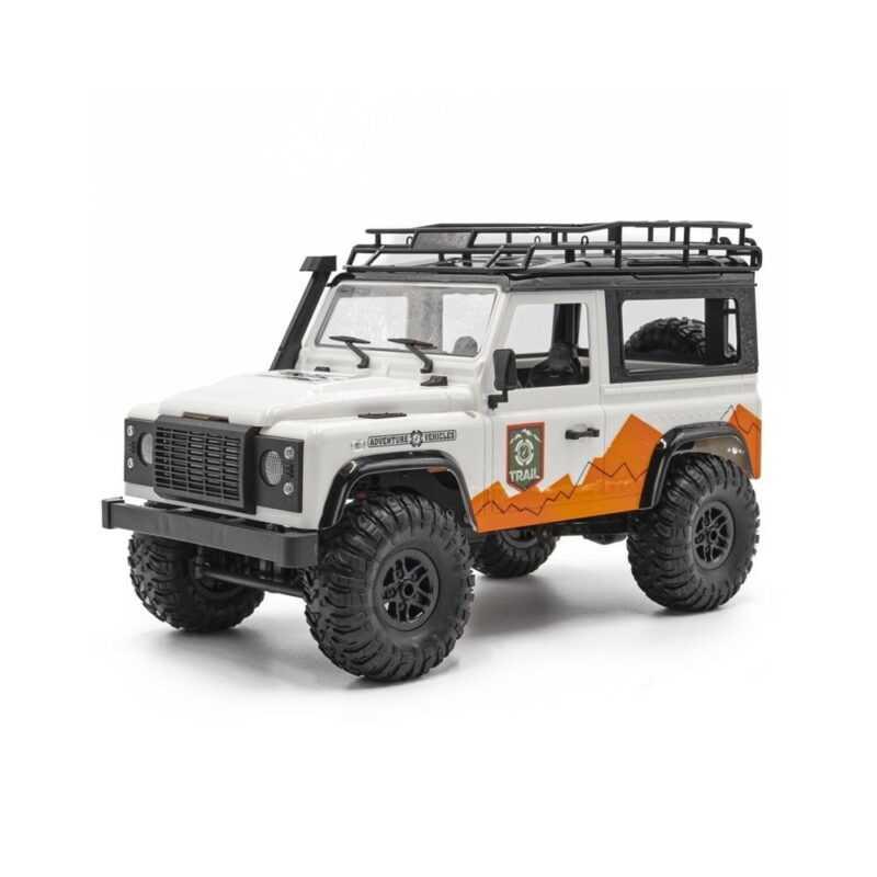 FUNTEK TRAIL távirányítós triál autó 1:12 fehér/narancs
